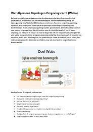 Wabo - Milieufederatie Limburg