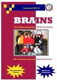 Brains Schuljahr 2009/10