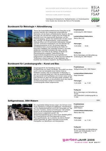 Kunst und Bau Seftigenstrasse, 3084 Wabern - BSLA