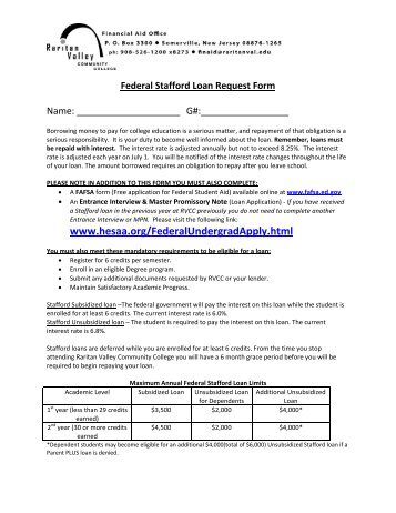 Loan Request Form