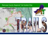 Maricopa County Regional Trail System Plan - Atfiles.org