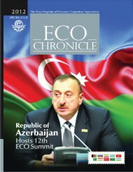 eco cronical final3.qxd - Economic Cooperation Organization