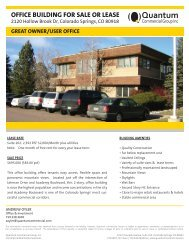 Property Flyer - Quantum Commercial Group