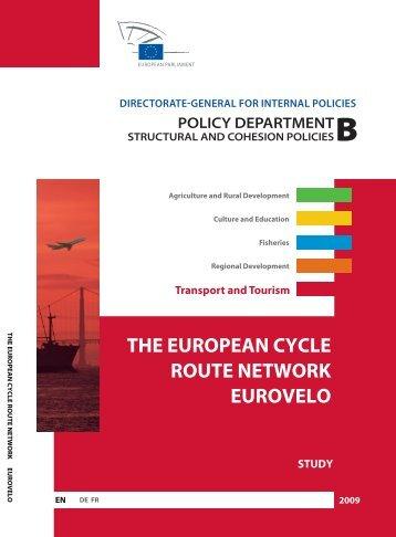the european cycle route network eurovelo - European Commission