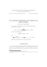 On a binomial coefficient and a product of prime numbers