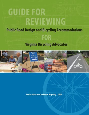Guide for Reviewing Public Road Design and Bicycling - Alliance for ...
