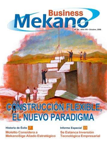 ConSTruCCIón FlExIblE, El nuEvo PArAdIgMA - Mekano