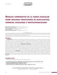 análisis comparativo de la fuerza muscular entre ancianas ...