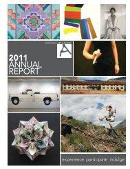 2011 ANNUAL REPORT - Kamloops Art Gallery