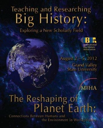 Program for Inaugural IBHA Conference - Villanova University