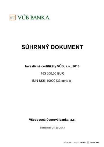 Ic 2016 sd (PDF, 127 kB) - VÚB banka