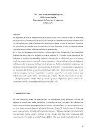 Ética y toma de decisiones en la ingeniería