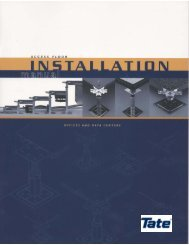 Installation Manual 4 MB PDF - Tate Access Floors