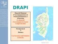 presentation DRAPI_E.. - FIORE-Corse