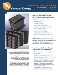 Corvus Commercial Data Sheet email1 - AUVAC