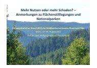 Vortrag Prof. Tzschupke - Waldbesitzerverband für Rheinland-Pfalz