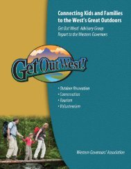 Connecting Kids and Families to the West's Great Outdoors