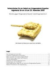 Argumentarium lang (13 Seiten, pdf) - Gruppe für eine Schweiz ...