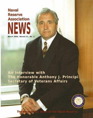 NEWS Naval Reserve Association Naval Reserve Association An ...