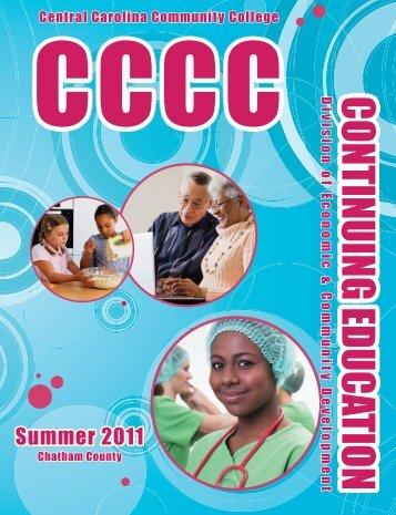 CONTINUING EDUCATION - Central Carolina Community College
