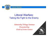 Littoral Warfare.ppt [Read-Only] - Clash of Arms