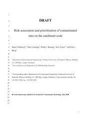 6C - Risk Assessment and Prioritisation of Contaminated Sites on ...