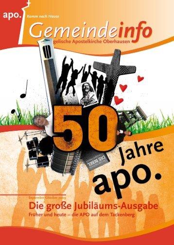 Die APO heute! - Evangelische Apostelkirchengemeinde ...