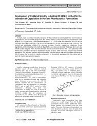 Development of Validated Stability Indicating RP-HPLC Method for ...