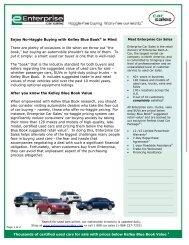 Using Kelley Blue Book to buy Used Cars for Sale – Enterprise Car ...
