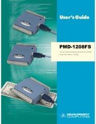 PMD-1208FS User's Guide