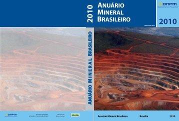 Anuário Mineral Brasileiro - Departamento Nacional de Produção ...