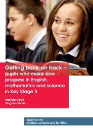 Getting back on track – - Digital Education Resource Archive (DERA)