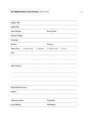 Download TJFF 2014 Film Submission Form - Toronto Jewish Film ...