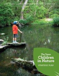 Texas Children in Nature Strategic Plan