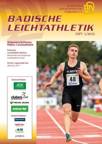 Badische Leichtathletik - HEFT 1/2015
