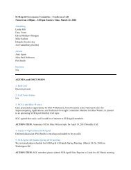 SURAgrid Governance Committee - Conference Call Notes from 2 ...