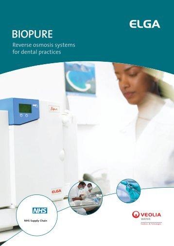 BIOPURE - Elga Process Water