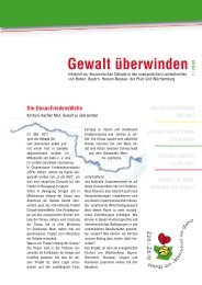 Dekade-Infobrief 1/2009 - Zentrum Ökumene der EKHN
