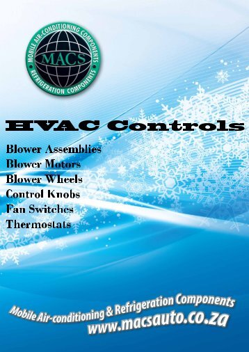 HVAC Controls Components - MACS