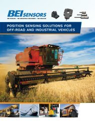 Position sensing solutions for off-road and industrial ... - Vika Controls
