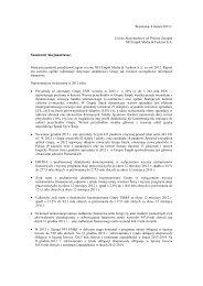 NFI EMF List Prezesa Zarzadu do skonsolidowanego sprawozdania ...