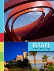 Israel: Modern Heritage - Travel Weekly