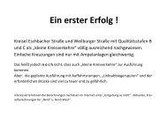 Ein erster Erfolg ! - Umgehung-so-nicht.de