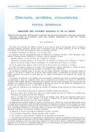Arrêté du 26 décembre 2012 - Timone.univ-mrs.fr