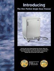 Single Door Freezer brochure - Lenox-Martell Inc
