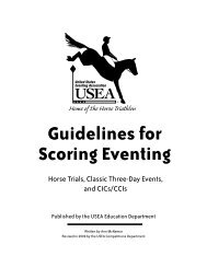 2009 Guidelines for Scoring Eventing - United States Eventing ...