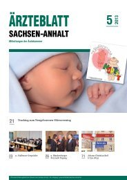 PDF-Download [5,3 MB] - Ärzteblatt Sachsen-Anhalt