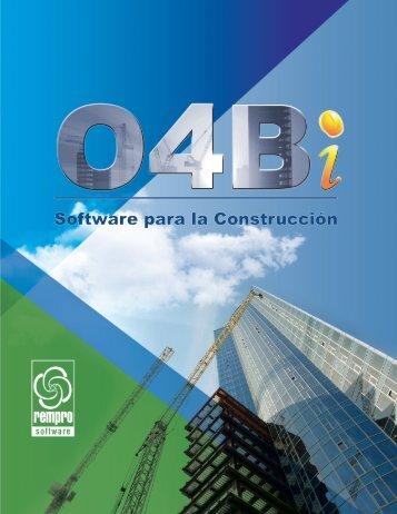 O4Bi Software para la Construcción