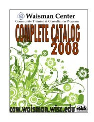 Complete catalog 200.. - Community Outreach Wisconsin ...