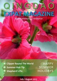 Qingdao Expat Magazine July- August 2013 Combo (3.43MB)